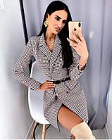 Платье пиджак женское 42-44 44-46