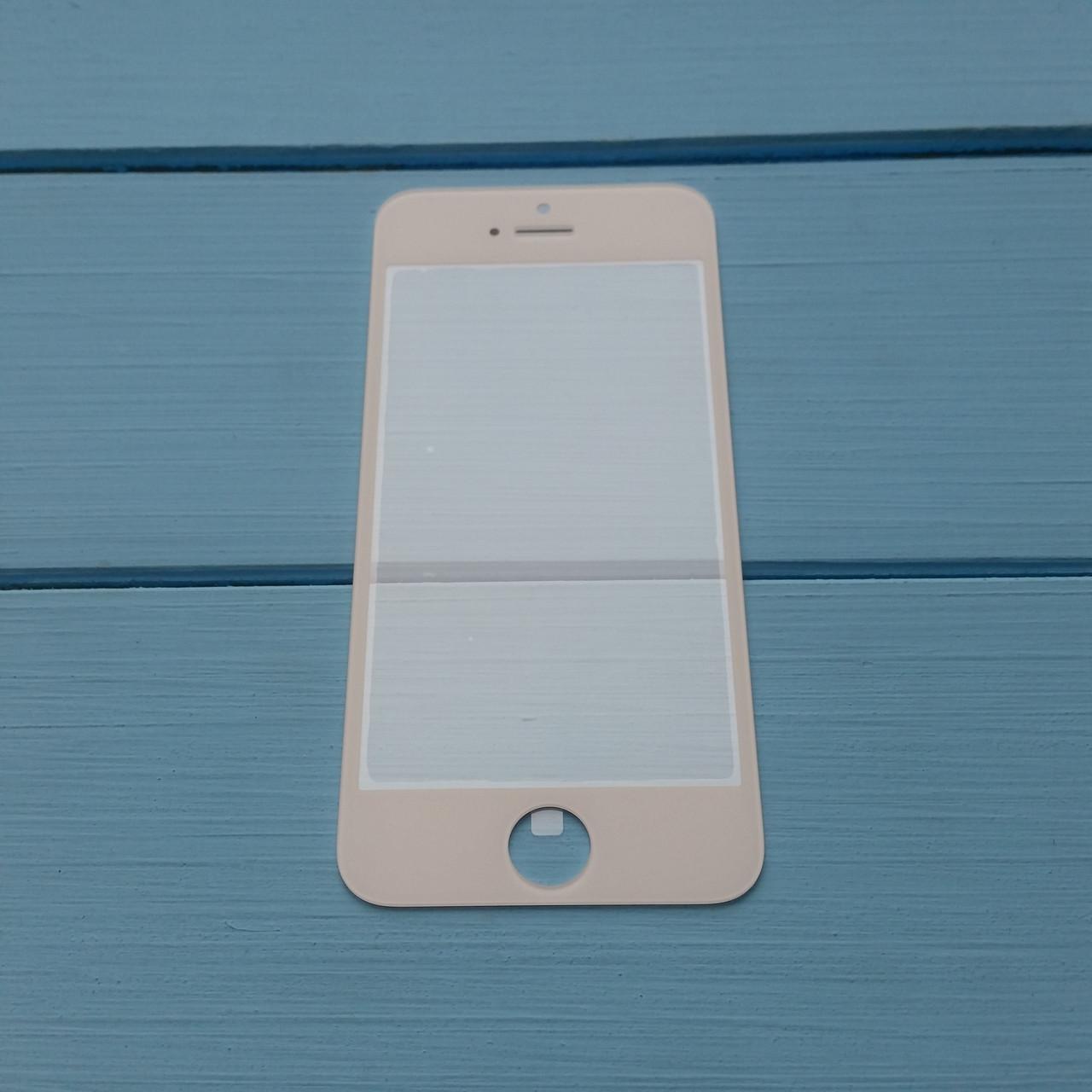 Стекло корпуса Apple iPhone 5, 5С, 5S ОРИГИНАЛ White