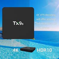 Смарт ТВ бокс Tanix TX9s Amlogic S912 8 ядер 2/8Гб Android 9