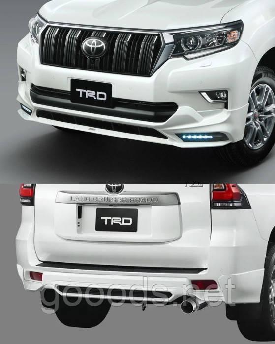 Обвіс TRD на Toyota Prado 150 (17-20)