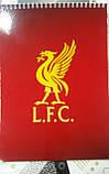 Зошит з символікою FC Liverpool., фото 2
