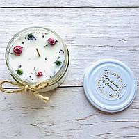 Ароматическая свеча соевая ручной работы Handmade by Caramel 230 г