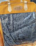 Велюровое стриженое одеяло покрывало 200*240, фото 8