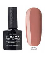 Гель-лак Elpaza Classic 205 (Сладкая карамель) 10 мл.