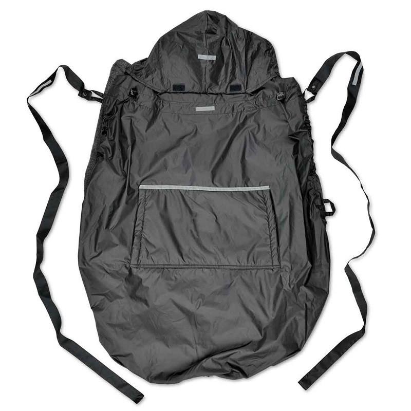 Непромокаемая слингонакидка HOPPEDIZ® Fleece-Cover 3-в-1 Anthracite