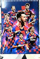 Тетрадь-Блокнот с символикой FC Барселона