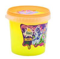 """Лизун-антистресс """"Mr. Boo: Neon"""", 1000 г (желтый) 80051  sco"""