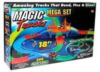 🔝 Конструктор, Magic Tracks 360 деталей, детская дорога + 2 машинки , Конструкторы и гоночные треки