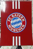 Тетрадь-Блокнот с символикой FC бавария