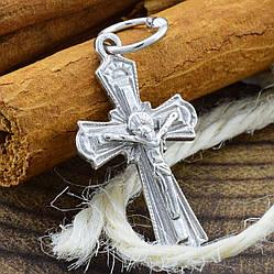 Серебряный крестик Православный размер 28х14 мм вес 1.7 г