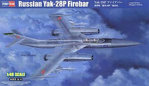 Як-28П Firebar. Сборная модель советского самолета в масштабе 1/48. HOBBY BOSS 81767
