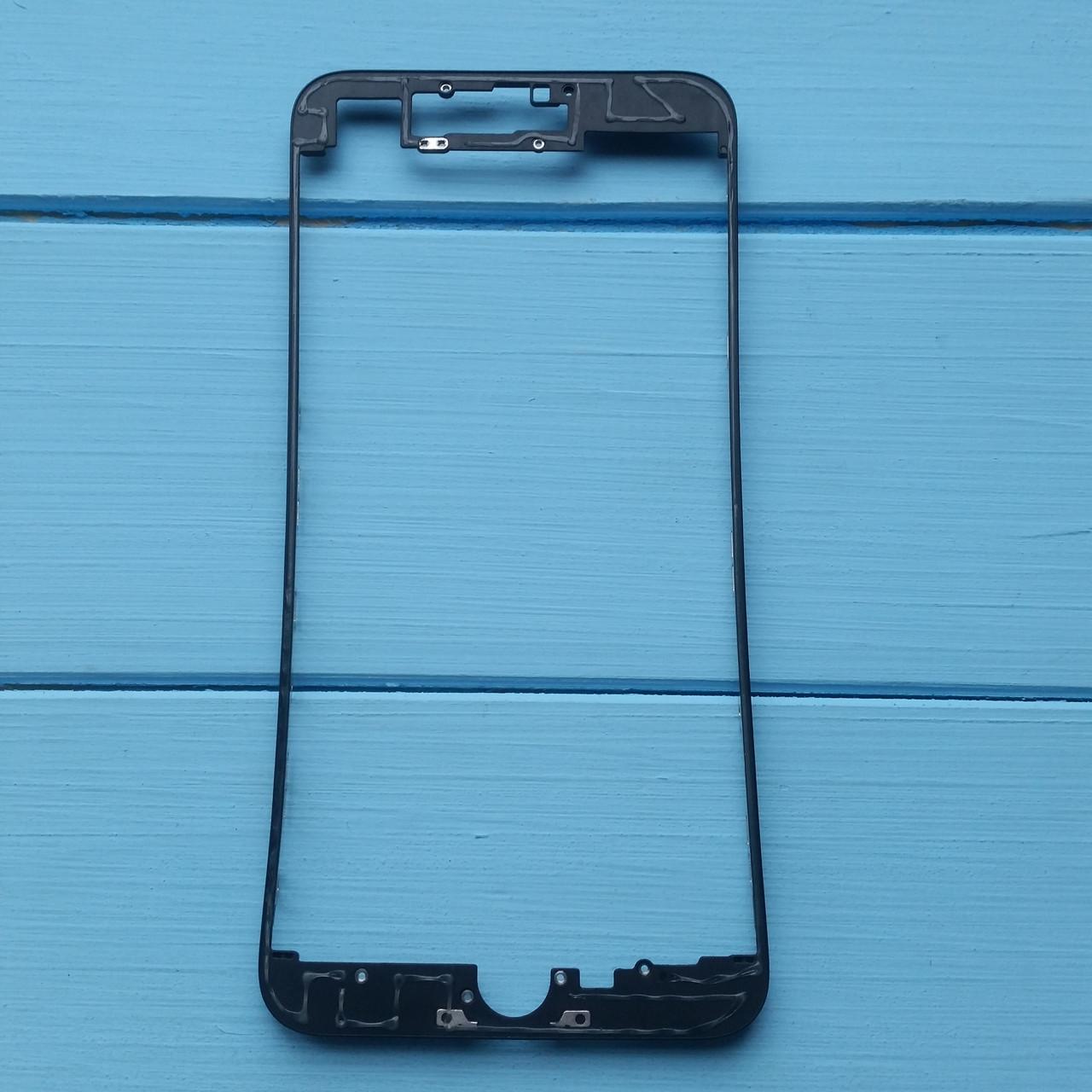 Рамка крепления дисплейного модуля Apple iPhone 7 Plus Black