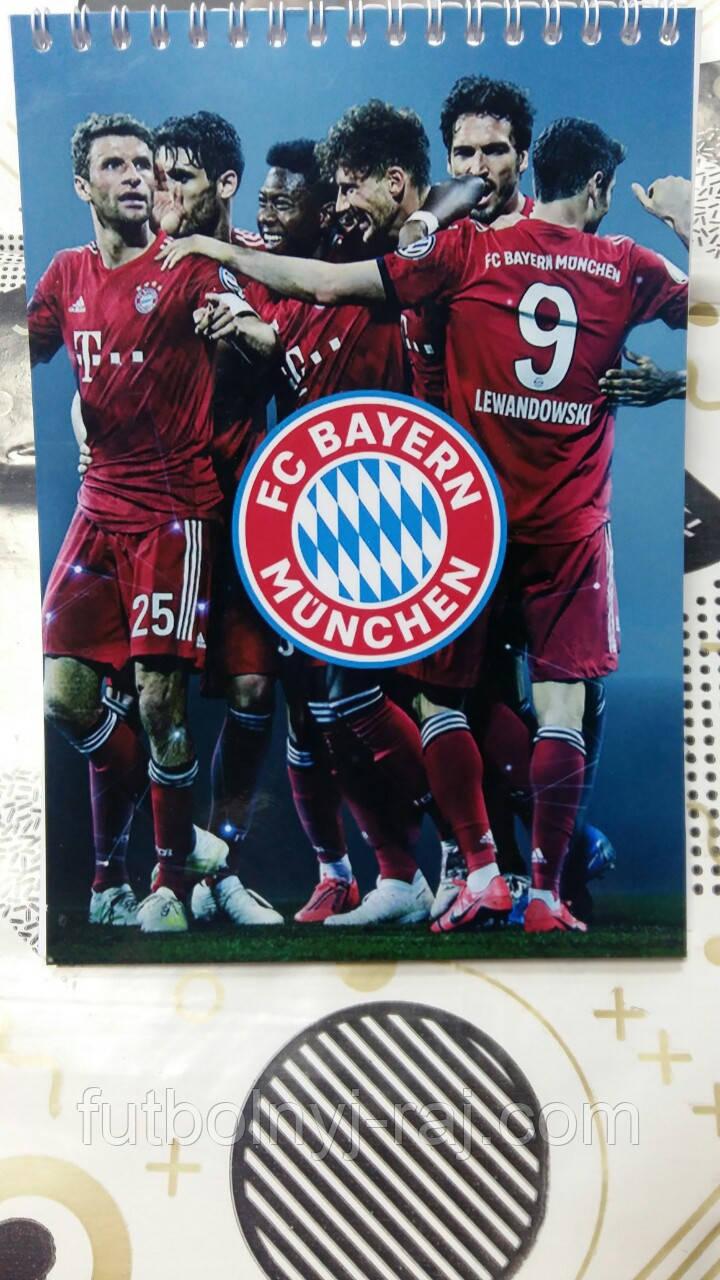 Блокнот с символикой FC Бавария