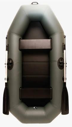 Лодка пвх надувная двухместная Grif boat GA-240, фото 2
