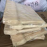 Вилки  деревянные ЭКО 100 шт.