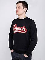 Чоловічий чорний світшот Punch Spring Pitcher Black, фото 1