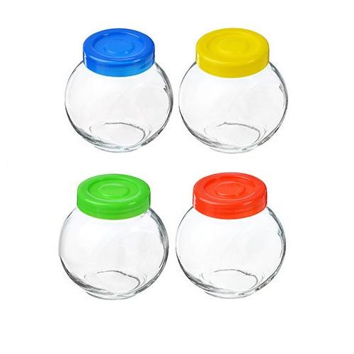 Набор банок  стеклянных 100мл набор 4шт