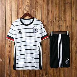 Футбольная форма сборной Германии 2020, основная