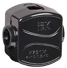 Зажим кабельный ответвительный У-731М (4-10/1,5-10мм2) IP20 IEK