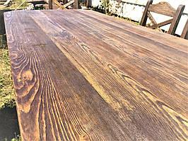Столешница из натурального массива сосны ручной работы от производителя. Tabletop 01