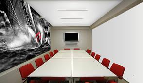 Тканевый натяжной потолок CLIPSO 705S 0002 Blanc classique
