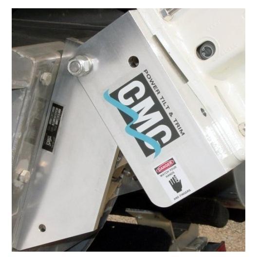 Електрогідравлічний підйомник PT-130 CMC для моторів до 130 л. с, 12В