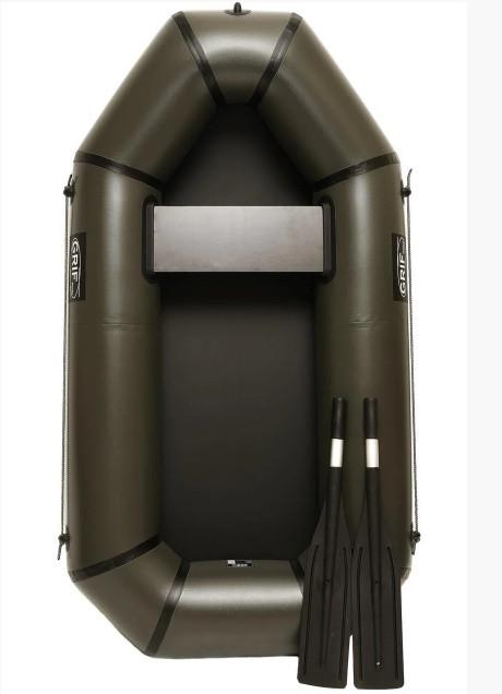 Надувная лодка Grif boat GL-190 из пвх одноместная