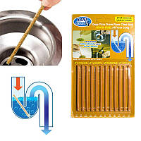 🔝 Палочки от засоров Sani Sticks Сани Стикс, Оранжевый, средство для чистки труб и канализации , Аксесуари для ванної кімнати