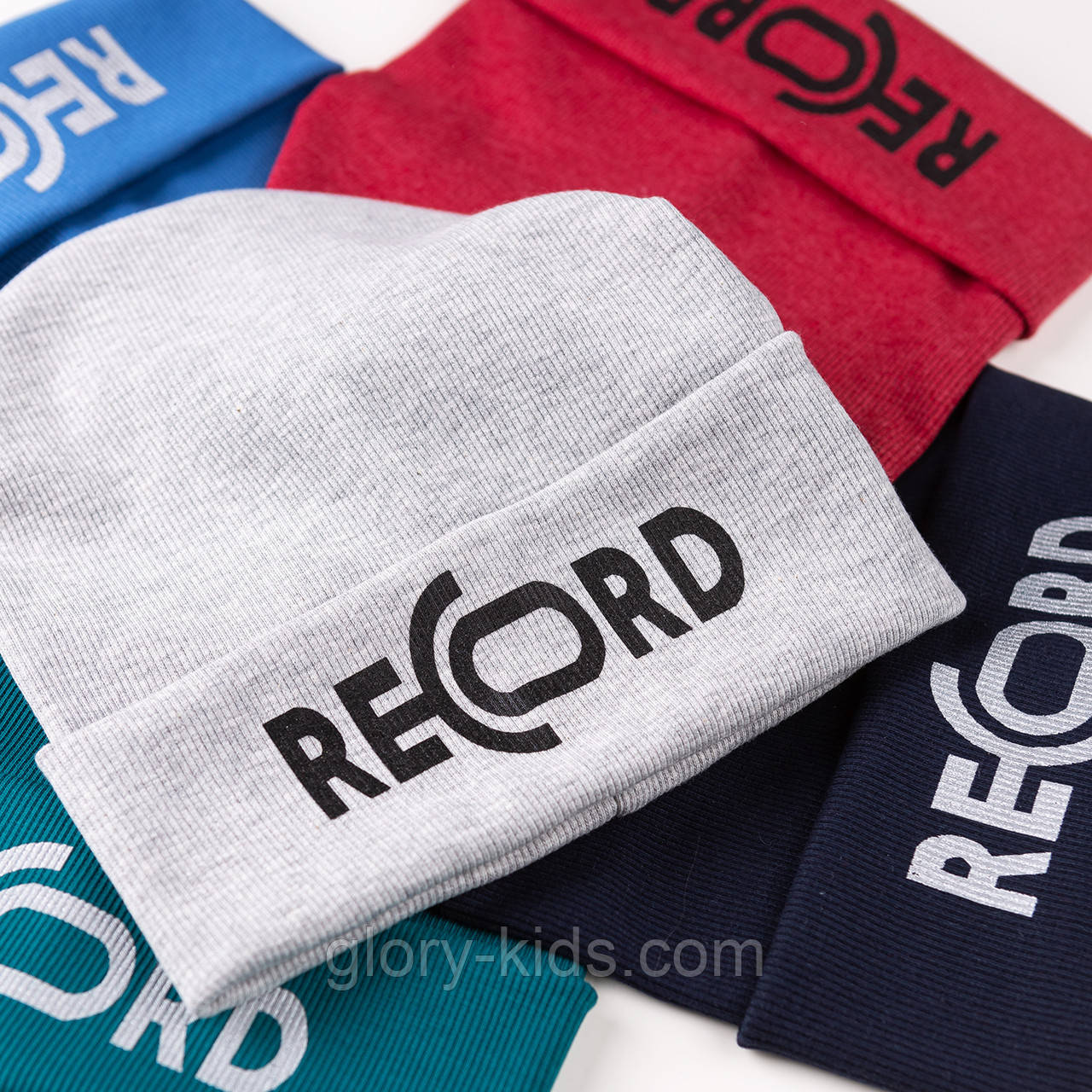 Трикотажная шапка подкладка х/б р52-54 5шт уп