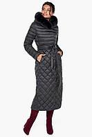 Воздуховик Braggart Angel's Fluff 31012 | Женская зимняя куртка графит