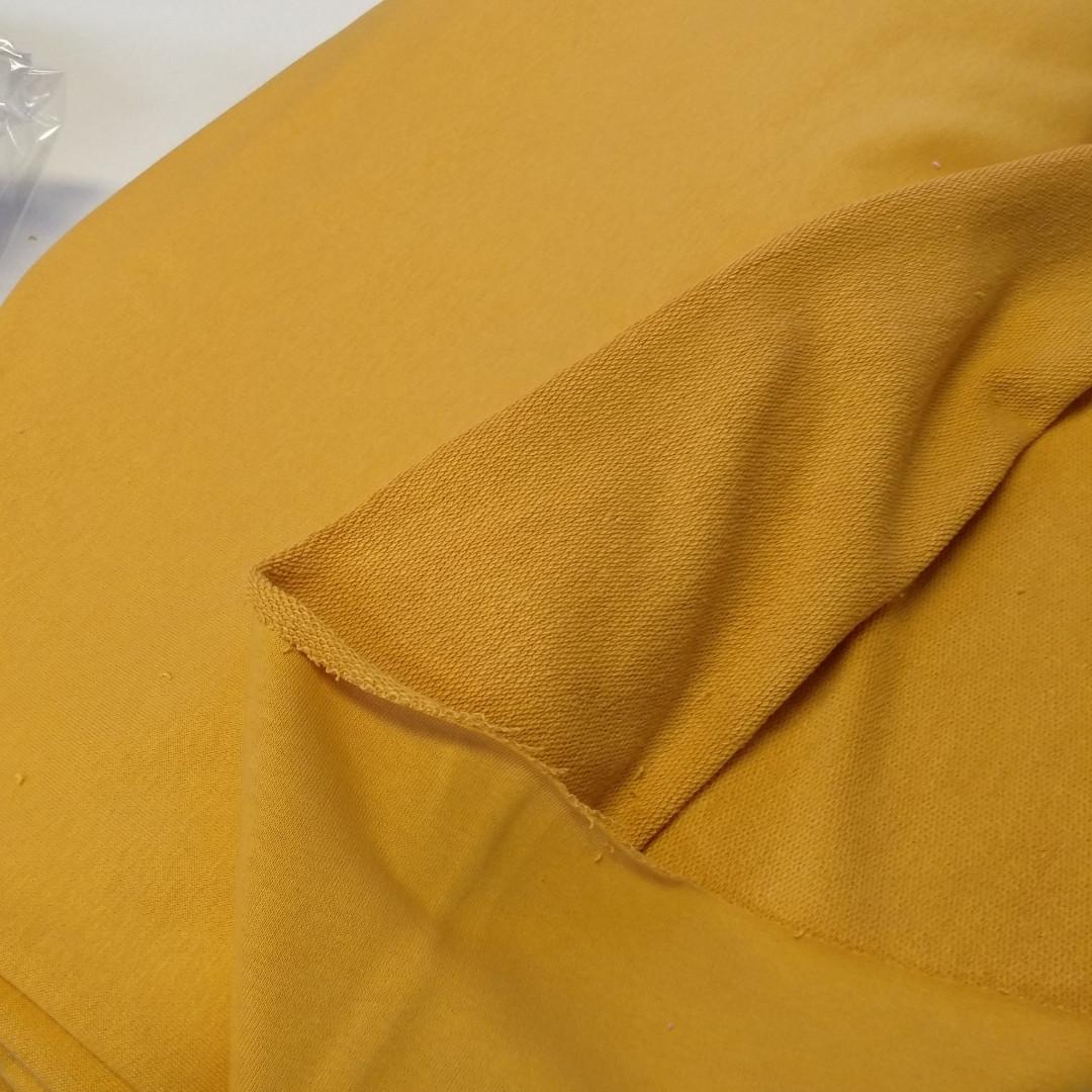 Трехнитка петля горчица, плотность 320 г/м2