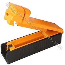Машинка Для Набивки Сигарет/ Самокруток Табаком MB-01 Желтая