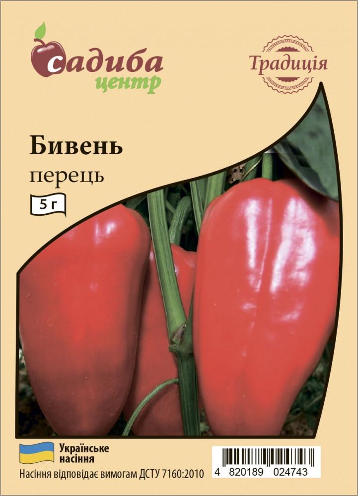 Семена перца Бивень, 5 г СЦ Традиция