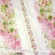 53018 Весенняя мелодия (орнамент). Ткань  с цветочным принтом. Американский хлопок., фото 2