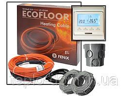 Кабель нагревательный Fenix ADSV18160 ( 0.8 м2) с программируемым терморегулятором  Е- 51 (KIT5501)