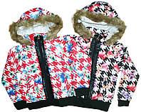 Куртка для девочек на синтепоне, GRACE, размеры 128,134,146, арт. G 50933
