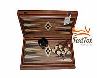 Нарды подарочные деревянные Manopoulos 48*60 см, фото 1