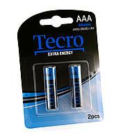 Элементы питания(батарейки) ААА Tecro LR03-2B(EE)