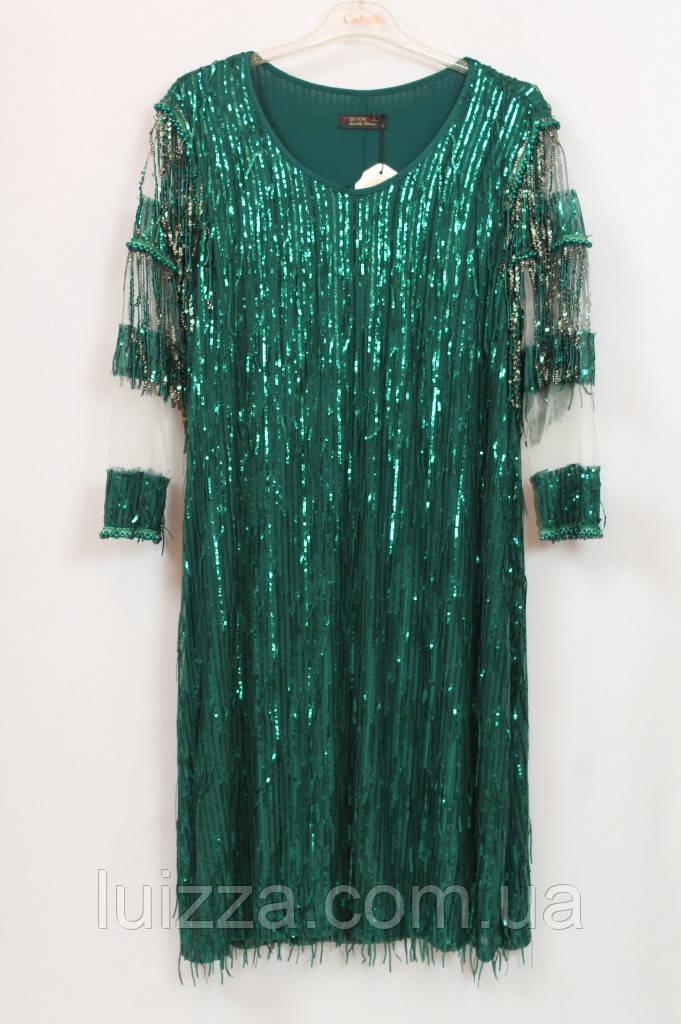 Жіноче турецьке плаття Pompadur 54-62р