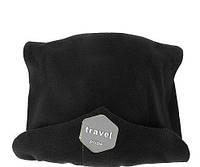 Подушка-шарф для путешествий Travel Pillow черный, Подушка-шарф для подорожей Travel Pillow чорний, Подушки, подушки
