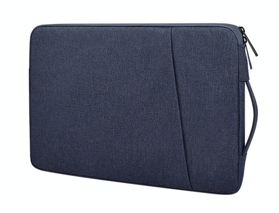 Чехол с ручкой для Macbook Pro 15,4''/16''- темно-синий