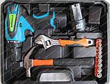 Шуруповерт аккумуляторный Vorskla ПМЗ 12/2 S-Li (набор инструмента), фото 4