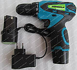 Шуруповерт аккумуляторный Vorskla ПМЗ 12/2 S-Li (набор инструмента), фото 8