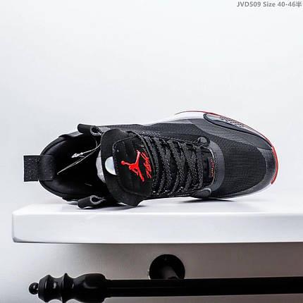 Мужские Кроссовки Air Jordan XXXIV AJ34 Black/red, фото 2