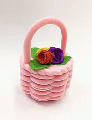 Футляр кошик з квітами велика NEW