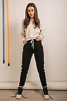 Повседневные, спортивные теплые женские штаны с начесом