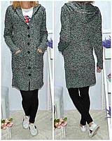 """Пальто женское букле на пуговицах, размер 42-46 """"LATTE"""" купить недорого от прямого поставщика"""