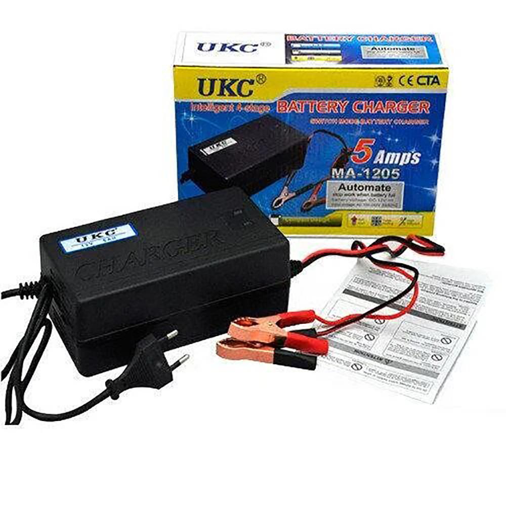 Зарядное устройство для автомобильных аккумуляторов UKC MA-1205 5A