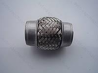 Гофра 50х100  VW  INTERLOCK (3-х слойная, короткий фланец/ нерж.сталь) (пакет)