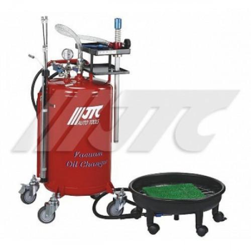 Установка для замены масла 80л, поддон 16л (комбинированная) JTC 1512